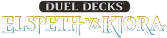 Duel Decks: Elspeth vs. Kiora logo