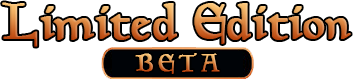 Limited Edition Beta logo